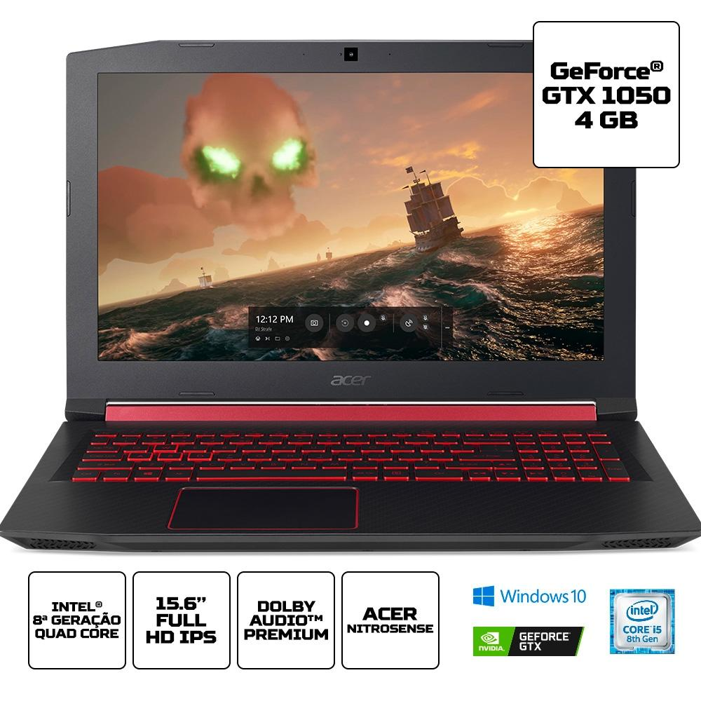 NB. ACER GAMER AN515-52-54AM (I5/8GB/4GBGTX1050/1TB+128GBSSD/15.6FULLHD)